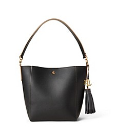 Leather Small Adley Shoulder Bag