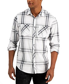 INC Men's Frank Plaid Shirt, Created for Macy's