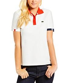Herringbone Polo Shirt