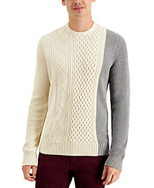 INC Men's Blocked Sweater, Created for Macy's