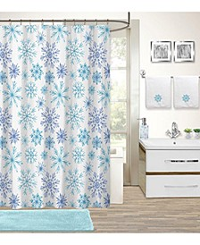 Holiday Snowflake 17-Pc. Bath Set