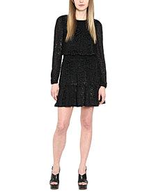 Michael Michael Kors Plus Size Wildcat Smocked A-Line Dress