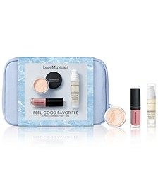 Receive a 4 pc Feel Good Favorites beauty set with any $55 bareMinerals purchase