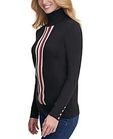 Stella Striped Cotton Sweater
