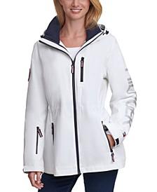 Zipper-Pocket Anorak Jacket