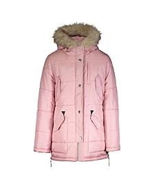 Big Girls Heavyweight Fashion Parka Jacket