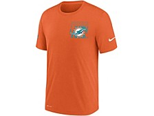 Miami Dolphins Men's Dri-Fit Cotton Facility T-shirt