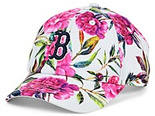 Boston Red Sox Girls Peony Clean Up Cap