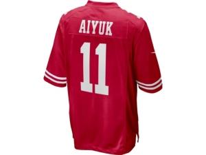 Nike Men's San Francisco 49ers Game Jersey Brandon Aiyuk