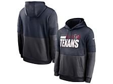 Houston Texans Men's Sideline Team Lockup Therma Hoodie