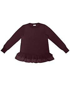 Plus Size Chiffon-Hem Tunic, Created for Macy's