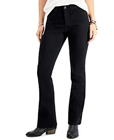 Plus Size Curvy-Fit Bootcut Denim Jeans, Created for Macy's