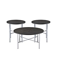 Enzo 3 Piece Occasional Table Set