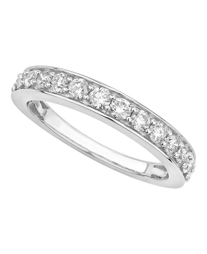 Macy's - Diamond Pave Band 3/4 ct. t.w. in 14k Gold