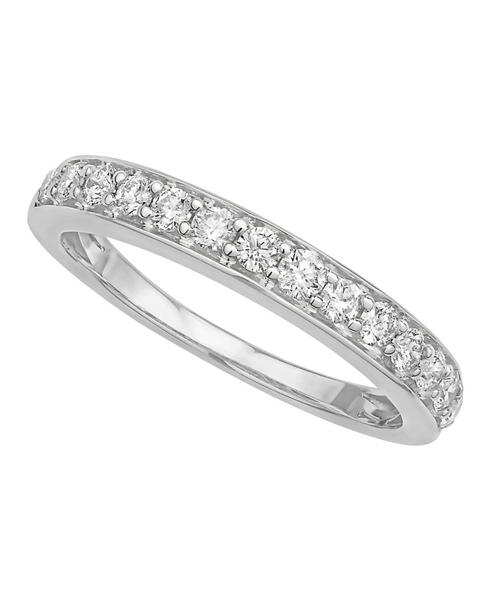 Macy's - Diamond Pave Band 1/2 ct. t.w. in 14k Gold