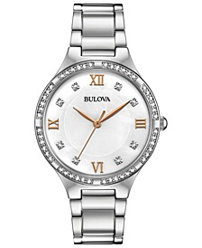 Women's Stainless Steel Bracelet Watch 34mm