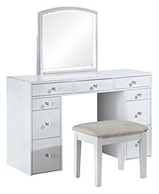 Hennah 2-Piece Vanity Set