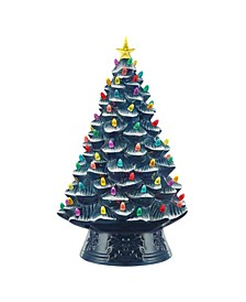 "18"" Lit Nostalgic Christmas Tree"