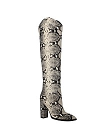 Mileena Over the Knee Western Women's Regular Calf Dress Boots
