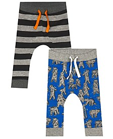 Earth Organic Baby Boy 2-Piece Cain Pant Set