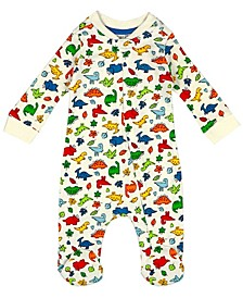 Earth Organic Baby Boy 1-Piece Cole Coverall