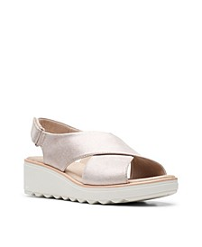 Collection Women's Jillian Jewel Wedge Sandals