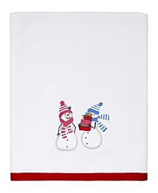 Snowy Friends Bath Towel