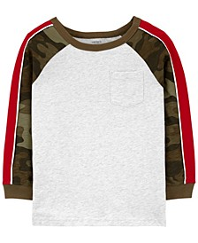 Big Boy Raglan-Sleeve Jersey Tee