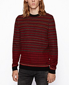 BOSS Men's Acree Regular-Fit Sweater