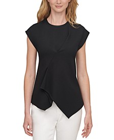 Asymmetrical Draped Top