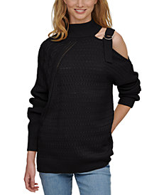 DKNY Cut-Out Sweater