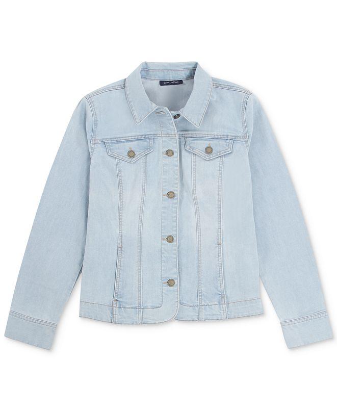 Charter Club Boca Wash Denim Jacket, Created for Macy's
