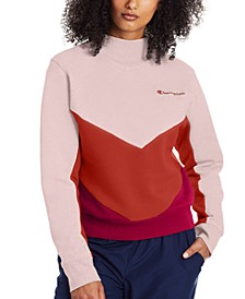 Women's Campus Colorblocked Fleece Sweatshirt