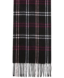 Cozy Plaid Muffler Scarf
