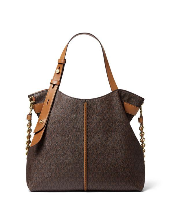 Michael Kors Downtown Astor Signature Shoulder Bag