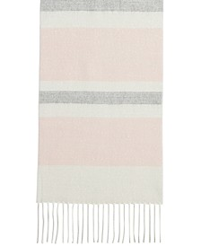 Lurex Striped Muffler Scarf