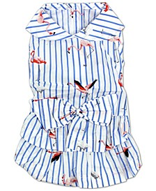 Flamingo Dog Dress