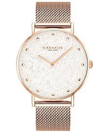 Women's Perry Rose Gold-Tone Mesh Bracelet Watch 36mm