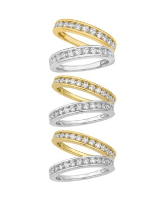 Certified Diamond Channel Band 3/4 ct. t.w. in 14k White or Yellow Gold