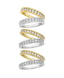 Certified Diamond Channel Band 1/4 - 1 ct. t.w. in 14k White or Yellow Gold