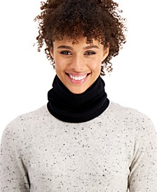 Cashmere Solid Gaiter Facemask, Created for Macy's