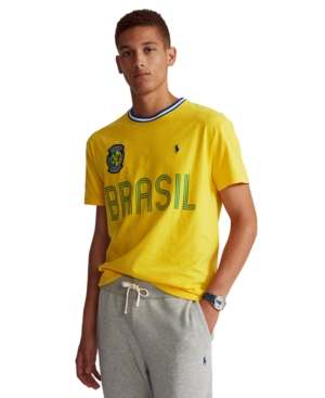 Polo Ralph Lauren Men's Classic-Fit Brazil T-Shirt