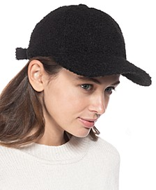Faux-Sherpa Baseball Hat