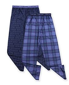 Big Boys 2-Piece Pajama Pants