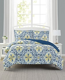 Deena 3-Pc. Reversible Full/Queen Comforter Set, Created for Macy's