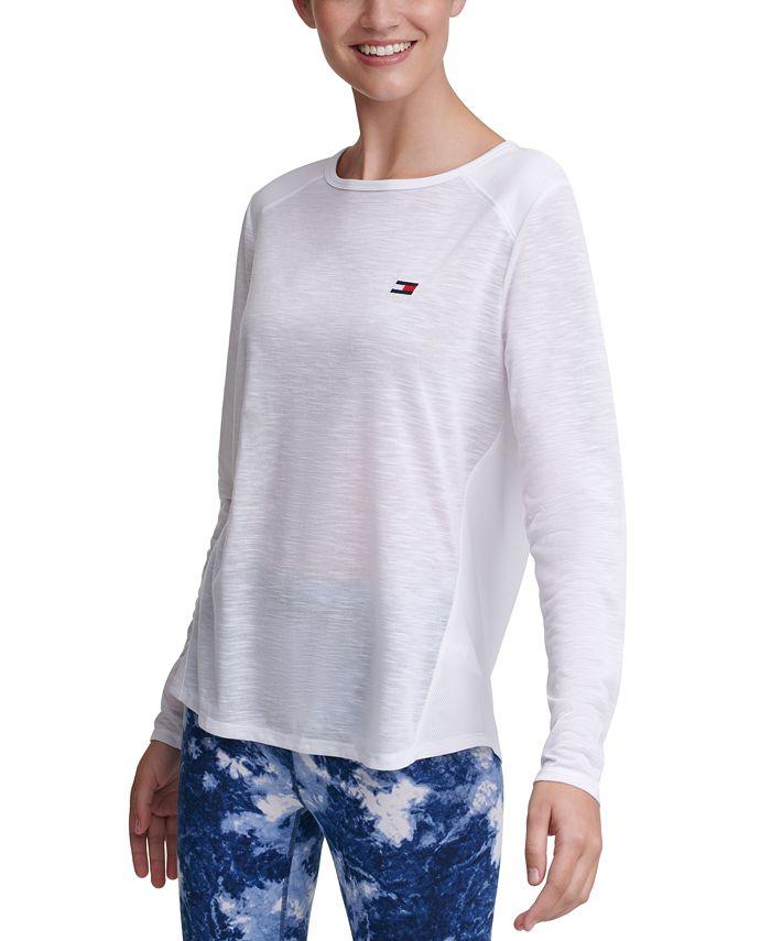Tommy Hilfiger - Cutout Contrast T-Shirt