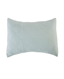 Linen Quilted Sham, King