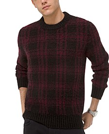 Men's Buffalo Check Sweater
