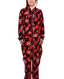 Trendy Plus Size 1-Pc. Printed Holiday Pajamas