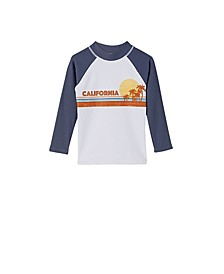 Toddler Boys Flynn Long Sleeve Rash Vest